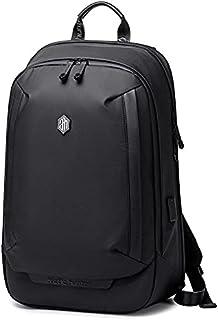 ARCTIC HUNTER Men's Notebook USB Charging Business Travel Waterproof Backpack Black -B00443