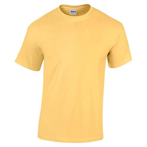 Gildan Heavy Cotton Youth Tshirt - Yellow Haze - XL