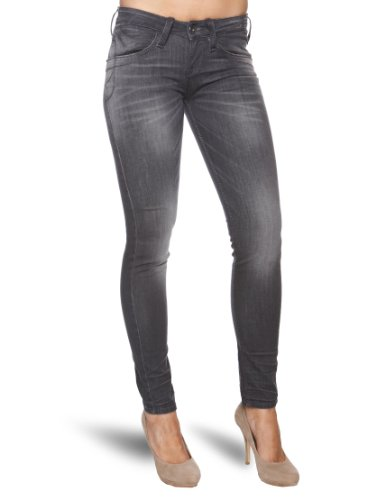 Fornarina Damen Skinny Jeans, Skinny, Grau 27 W/31 L