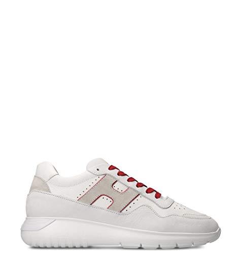Hogan Luxury Fashion Herren HXM3710BR30KF60ZP0 Weiss Leder Sneakers | Jahreszeit Outlet