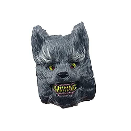LXFENG Festival de Halloween Horror Ghost, Bungee Relleno Mascarilla de Miedo, fotografiado máscara sangrienta, Accesorios de Rendimiento de la Fiesta de Mascarada mask2-24x38cm