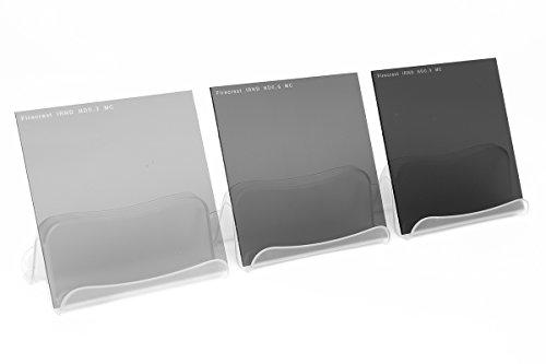 Formatt-Hitech 100x 150mm Soft Edge Graduado de Densidad Neutra Firecrest Kit de filtros (3Unidades)