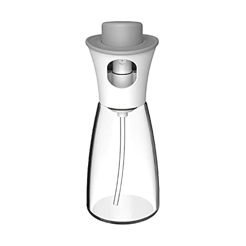 180 ML Sprayer Bottle Dust-Proof Condiment Bottle for Grill Vinegar Soy Sauce Oil Pot BBQ Olive Oil Cookware Tools Kitchen Gadgets(white)