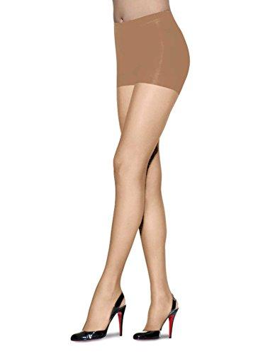 L'eggs Women's Sheer Energy Control Top Toe Pantyhose, Nude, Q