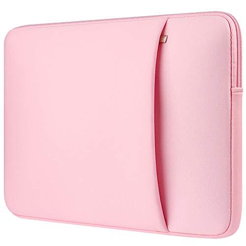 13-13,3 Pulgadas MacBook Air Funda Protectora para Ordenadores Portátiles PC Bolsa para la Mayoría de Las Laptop de 13-14 Pulgadas Surface Book Apple Acer Ausu DELL HP Lenovo,Pink 2