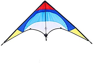 BONJIU Outdoor Funny Kite Double-line Flying Fish Kite Reproduce Stunt Kite Beginners Must for Children Adults Play in The Park