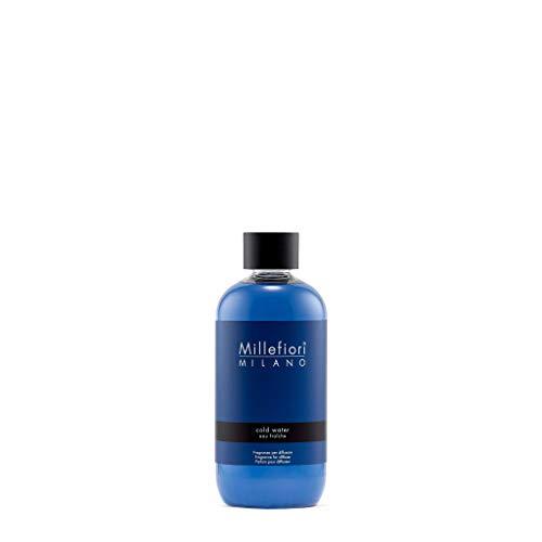 Millefiori Milano Cold Water Ricarica per Diffusore di Aromi per Ambiente, Fragranza, 250 ml