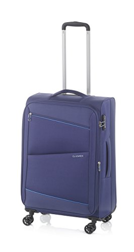 Gladiator Bel-air Suitcase, 68 cm, 63 Liters, Blue