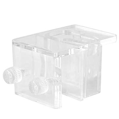 Fdit Acryl Aquariumschlauch Befestigungsrohrclip Halterklemme 20mm MEHRWEG VERPACKUNG socialme-eu
