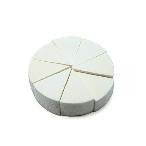 10 Pc Éponge Velours Éponge De Maquillage Blender Foundation Puff Cosmétiques Blending Trianglewhite