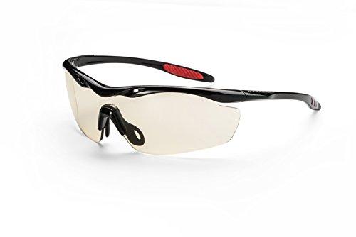 Icecube Photochrome Sonnenbrille COBRA/Superleichte selbsttönende Sportbrille aus Hightech-Material/Mit Etui und Microfaserbeutel F6270906