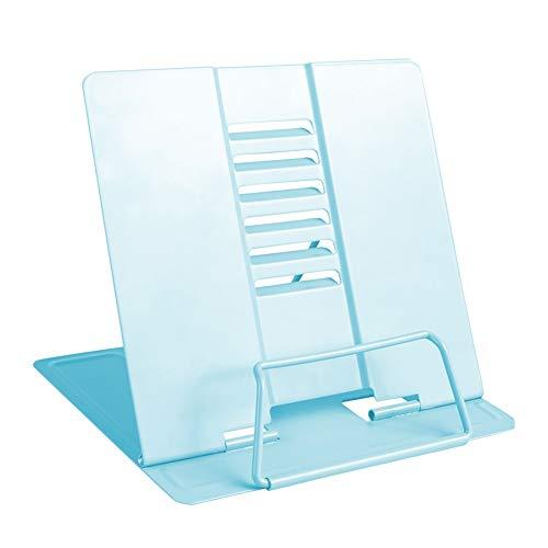 Boekenplank Keuken Boekje Lezen Rest Boek Stand Recept Kookboek Houder Stand HUYP Blauw