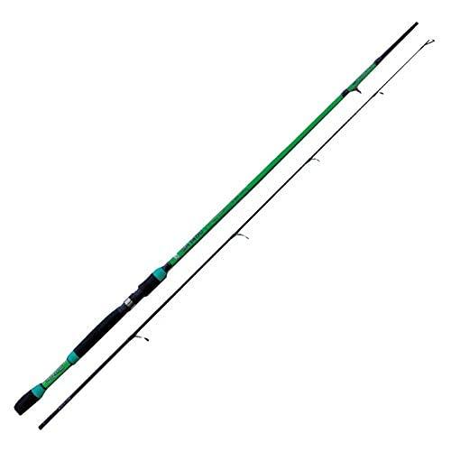 SHIZUKA SH1400 2.10 m 10-30 g Canna da Pesca a Spinning Ideale per Tutti i Pesci Predatori Sia in Mare Che Fiume e Lago