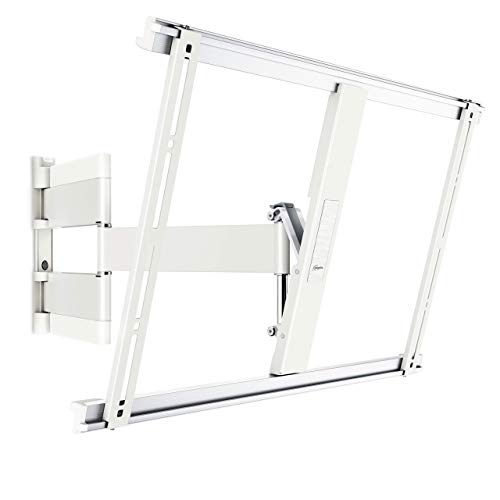Vogels THIN 545 Blanco, Soporte de Pared para TV 40 - 65 Pulgadas, Inclinable y Giratorio 180º, Máx 25 kg y con sistema VESA Máx. 600 x 400