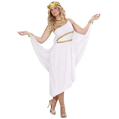 Widmann 11002818 Kostüm griechische Göttin, Damen, Weiß, M