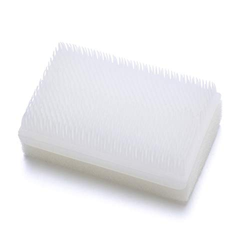 Healifty Cepillo Sensorial Trastorno Del Procesamiento Sensorial Autismo Cepillo Esponja Cepillo Quirúrgico Cepillos para Fregar Las Manos (Blanco)