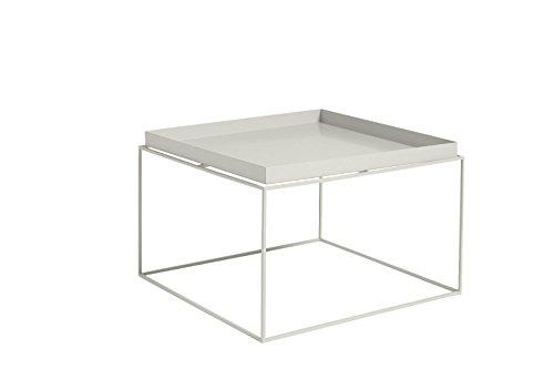 HAY - Tray Table - warmgrau - 60 x 39 x 60 cm - Design - Beistelltisch - Couchtisch - Sofatisch