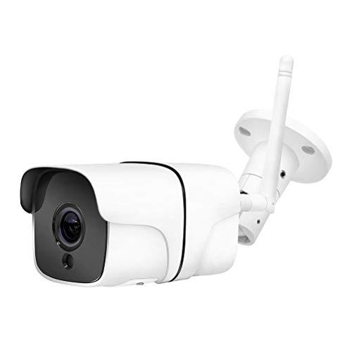 Outdoor bewakingscamera, 1080p draadloze infrarood-camera met bewegingsmelder alarm waterdichte bewakingscamera