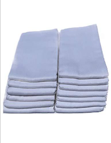 Elegance Diaper, Prefolds Cloth Diaper (Regular 4x6x4) 12 Pack 100% Chinese Cotton