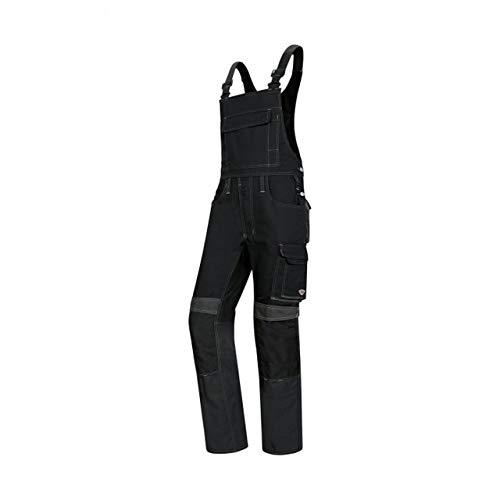 BP 1815-720-10-57 Arbeitshosen, Jeans-Stil mit Rückenpasse, 305,00 g/m² Verstärkte Baumwolle, Dunkelblau/Königsblau ,57