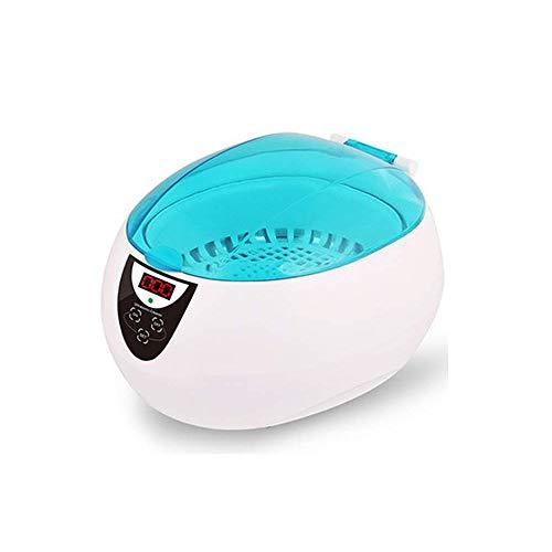 Ultraschallreiniger 750ml Schmuckreiniger Waschmaschine Maschine Mit Digitaler Zeitschaltuhr Für Brillen, Uhren, Halskette, Ringe, Zahnersatz Fauay
