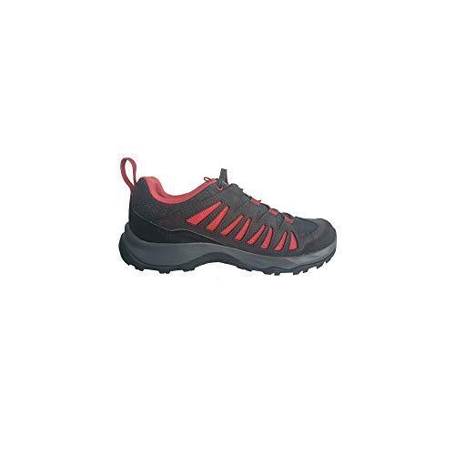 SALOMON Shoes EOS GTX, Zapatillas de Trekking Mujer, Multicolor (Phantom/Phantom/Garnet Rose), 37...