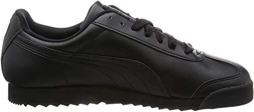 Puma Roma Basic, Herren Sneaker, Schwarz(Schwarz (black-black)), 41 EU (7.5 UK)