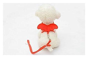 Pet Laisses et Colliers for Chien de Compagnie mis en Laisse de Chiot for Petits Chiens Chats Designer Wing Harnais réglable for Chien Accessoires for Animaux Classic (Color : A, Size : M)