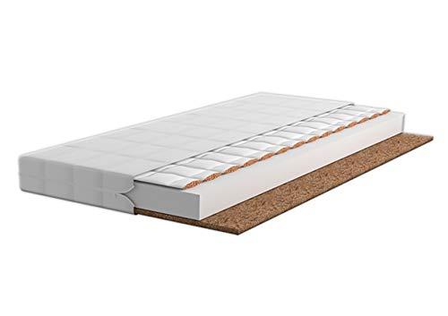 Children's Beds Home Materasso in Fibra di Cocco con Schiuma di Grano saraceno (140 x 70)