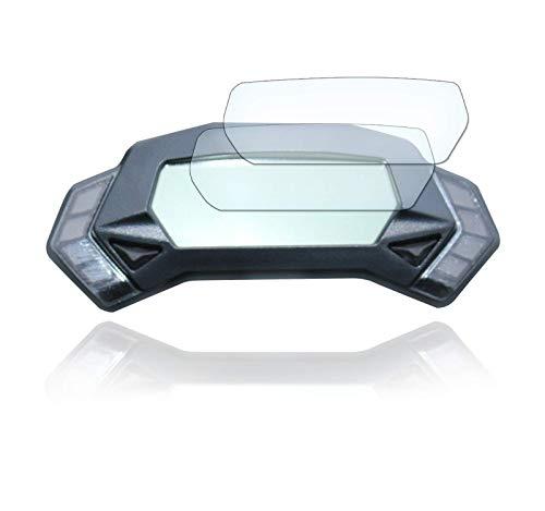 [2 Stück] Displayschutzfolie Tacho Schutzfolie geeignet für Kawasaki Ninja 125 - Z125 Panzerglas