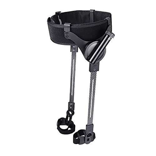 LZYLZF Ayudas para Caminar para Entrenamiento de rehabilitación de hemiplejía por accidente cerebrovascular, ergonomía, el Peso más Ligero y Ajuste de Tres velocidades(Size:Código S,Color:Piernas)