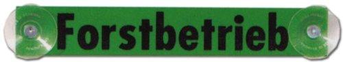 Hinweisschild - Forstbetrieb - Forst Wald Förster Schild Warnschild Warnzeichen Arbeitssicherheit Türschild Tür Kunststoff Kunststoffschild Geschenk Geburtstag