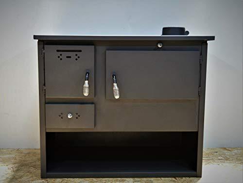 Horno Cocina de leña de combustible sólido Potencia de calefacción 7,5 kw