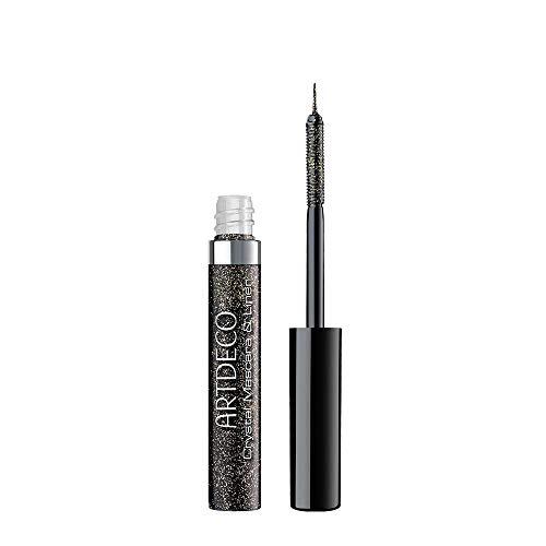 ARTDECO Crystal Mascara & Liner – Transparente, glitzernde Mascara und Liquid Eyeliner in einem – 1 x 5 ml