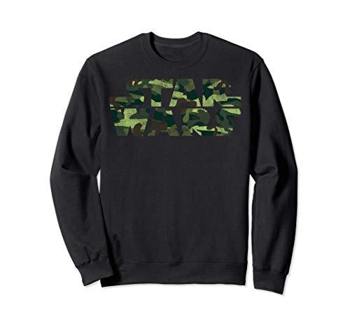 Star Wars Classic Logo Camouflage Sweatshirt