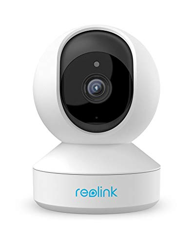 Wireless Security Camera, Reolink 3MP HD Indoor WiFi Pet Camera Home Security System, Pan Tilt Baby Monitor with Phone App, Two-Way Audio, Night Vision, 7 Day Free Cloud/Local SD Card Storage, E1