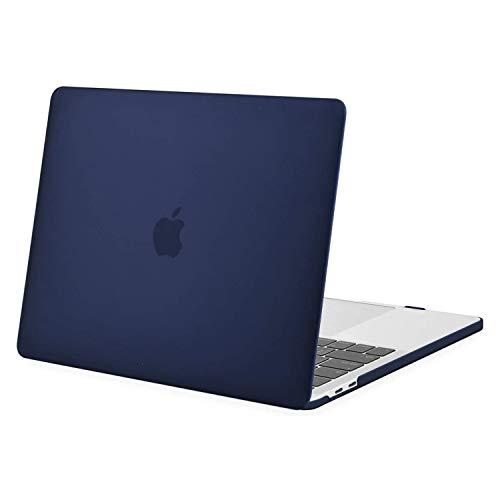 MOSISO Custodia Compatibile con MacBook PRO 13 Pollici con/Senza Touch Bar 2020 2019 2018 2017 2016 A2338 M1/A2289/A2251/A2159/A1989/A1706/A1708,Plastica Case Rigida Copertina, Blu Navy