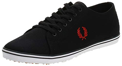 Fred Perry Kingston Twill Black 42