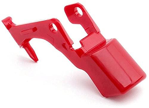 Interruptor De Botón De Encendido con Gatillo Extrafuerte, Pieza De Accesorios De Repuesto para Aspiradora V10 / V11, Pieza De Repuesto De ABS Rojo Mejorada, Combinación, Funciona Bien (1pcs)