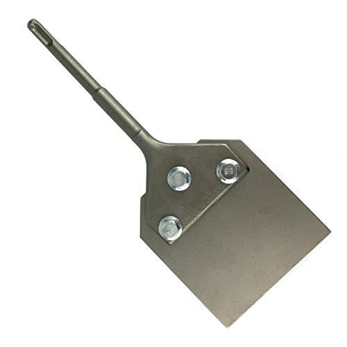 SDS Plus Spachtelmeißel 250x100mm f. Kleber, Teppich, Farbe