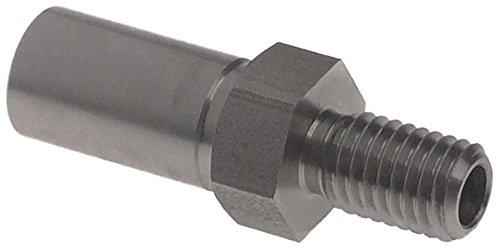 Nachspülstift ø 16mm EP unten passend für Amatis für Spülmaschine Höhe 38mm M12x1,75 auch passend für Colged, Elettrobar, Kronus