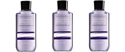 Bath & Body Works Lavender & Sandalwood Shower Gel 10oz each - Lot of 3