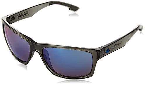 Quiksilver Herren Trailway-Sonnenbrille für Männer, Grey/Grey/Blue-Combo, 1SZ