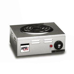 APW Wyott Heavy Duty Single Electric Portable Hot Plate, CP-1A