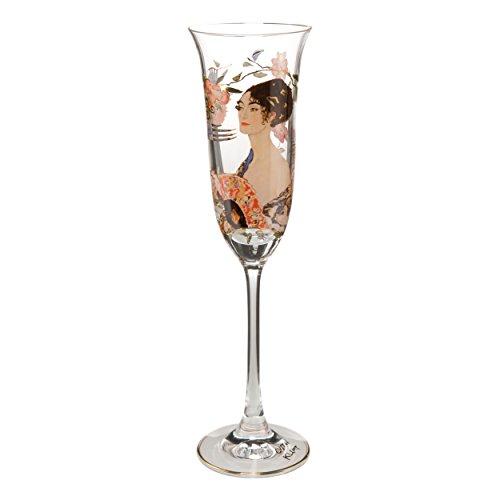 Goebel Die Musik Gustav Klimt Teelicht Teelichthalter Kerzenhalter Deko Glas
