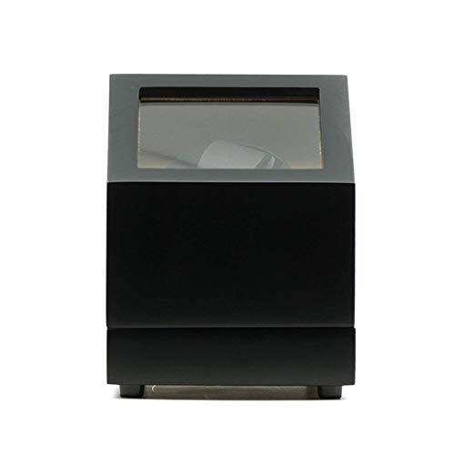 Caja de Reloj enrollador de Reloj Cajas de enrollador de Reloj Relojes mecánicos automáticos Estuche de Madera con Cuerda automática Caja de Reloj Almacenamiento Devanadera de Reloj (Color: B), Caja