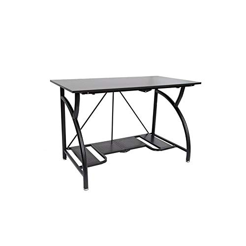Origami Multi-Purpose fodable Steel frame Table,Sturdy Heavy Duty PC Computer...