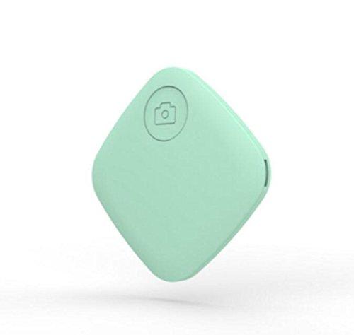 WYXIN Four Square Smart Bluetooth Dispositivo anti-smarrimento Trova zaino Portafoglio Portachiavi Wireless Selfie Anti-perso Pet-finder , green