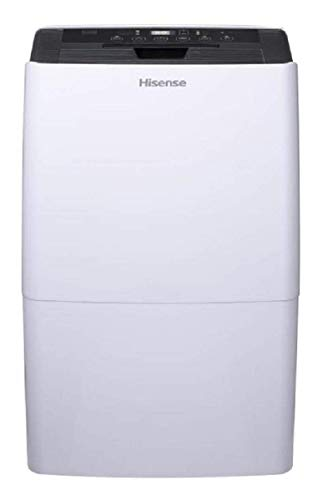 Hisense 70 Pint Dehumidifier DH-7019KP1WG with A Built in Pump and Includes Hose Attachment Energy Star Rated Great for Basements and Quiet Operation (Renewed)
