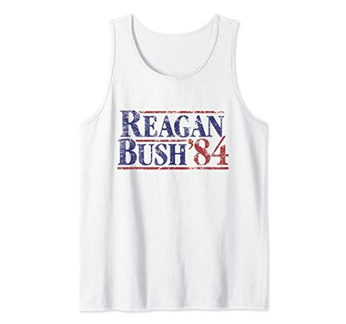 Reagan Bush '84 Vintage Tank Top